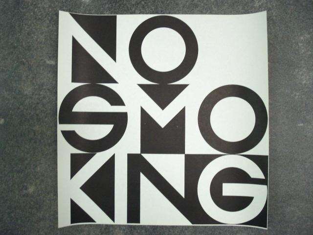 "George Maciunas / George Brecht ""NO SMOKING""  Fluxus Edition, 1976"
