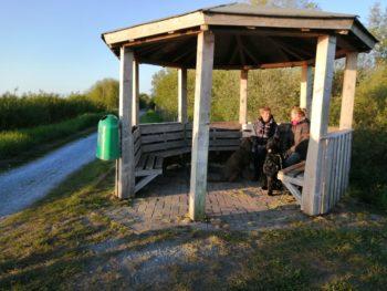 Kleiner Rastplatz am See in Bederkesa