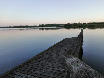 Blick auf den Bederkesaer See