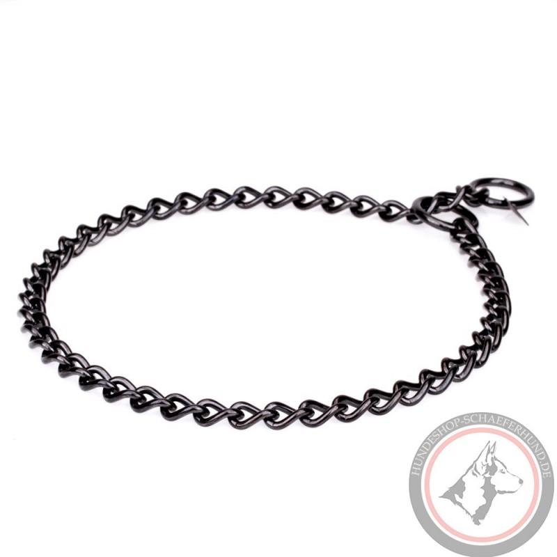 Metall Hundehalsband für Schäferhund, streng und