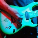 hundredloud green guitar