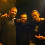 Jimbo of Reverend Horton Heat with Casey and Jeff
