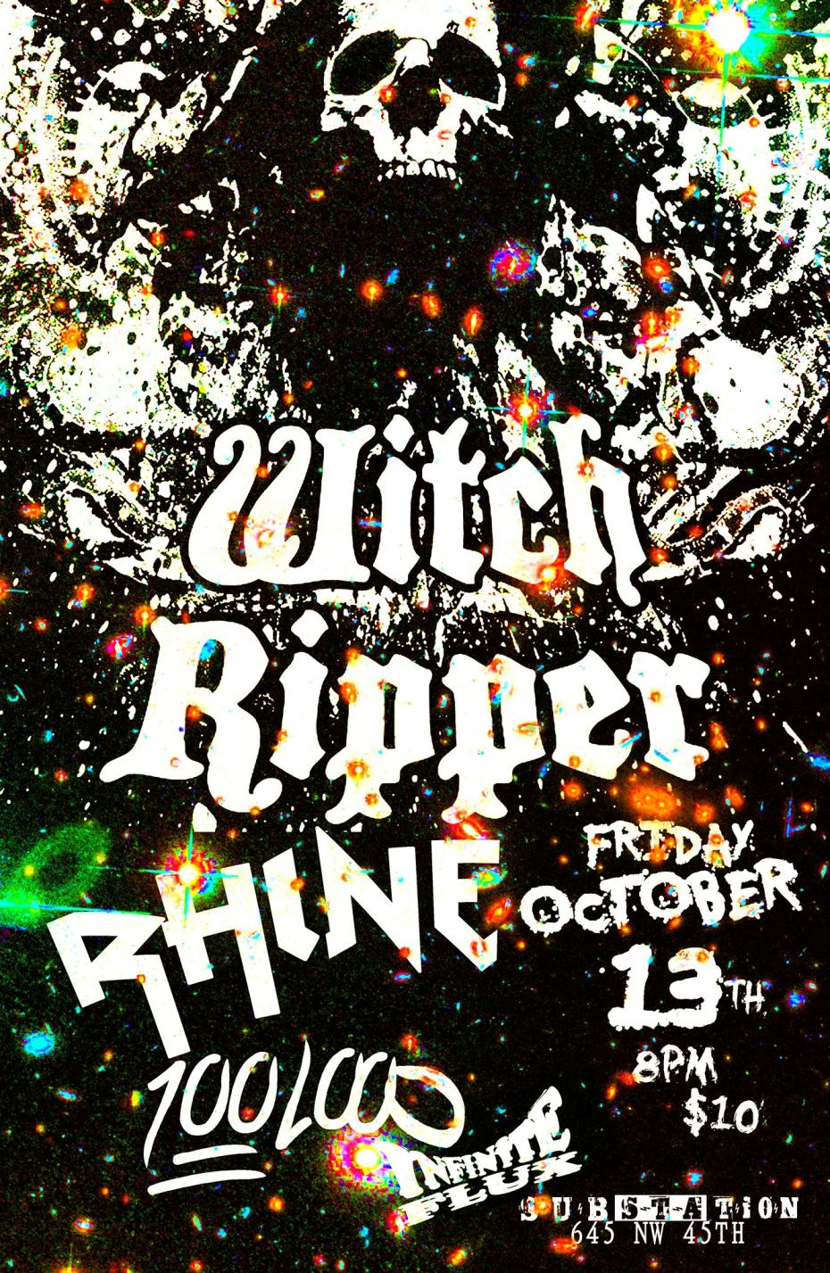 hundred loud witch ripper rhine