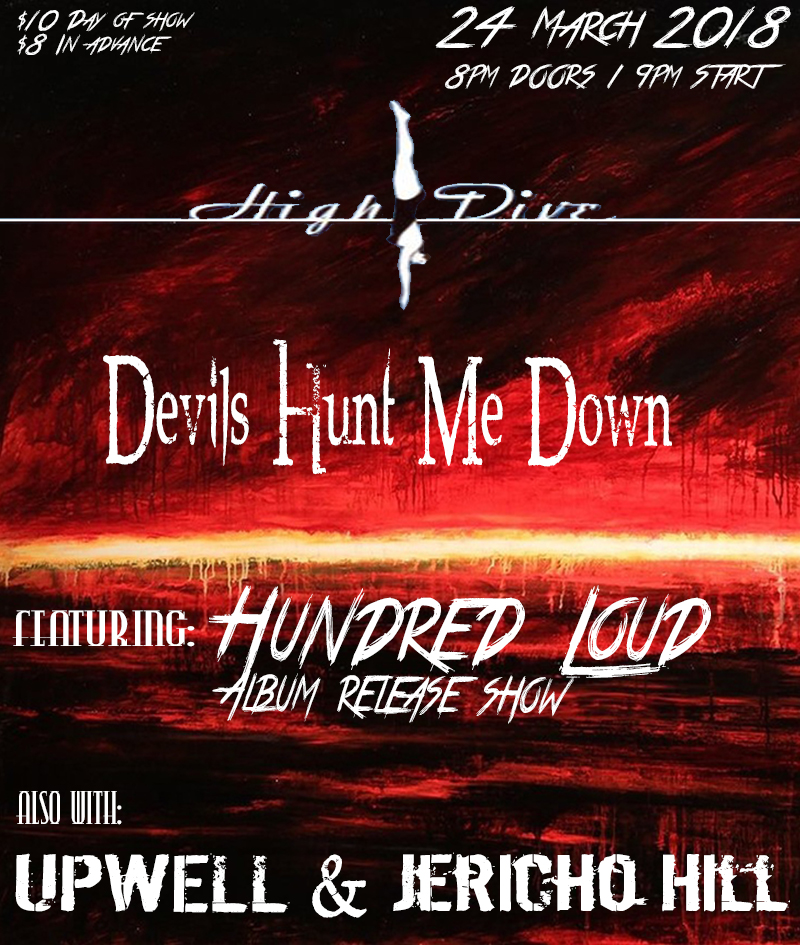 hundred loud upwell devils hunt me down at High Dive Seattle