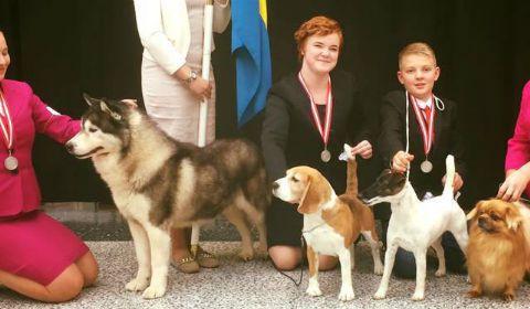 Silver till juniorlandslaget i handling 2016