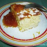 Hungarian Rice Pudding Souffle - Rizsfelfújt