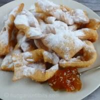 Hungarian Doughnut ribbons - Csörögefánk, forgácsfánk