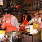 Cooking school in Budapest