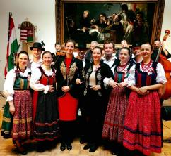 Anna Smith Lacey and HIF supported folk costumes at national day celebration