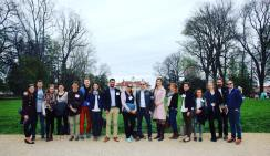 YHLP 2017 participants group photo at Mount Vernon