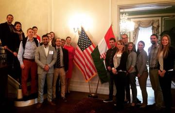 Wrapping up the 2017 Young Hungarian Leaders Program
