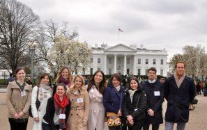 White House YHLP group photo