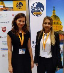 CIP-interns-Nagy-Nikolett-and-Annamária-Kránicz-at-CEPA-Forum