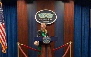 Noemi Palfalvi at Pentagon