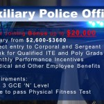 Job Vacancy - Auxiliary Police Officer