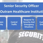 Job Vacancy - Senior Security Officer for Outram Healthcare