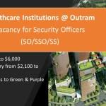 Job Vacancy - Security Officer - Healthcare