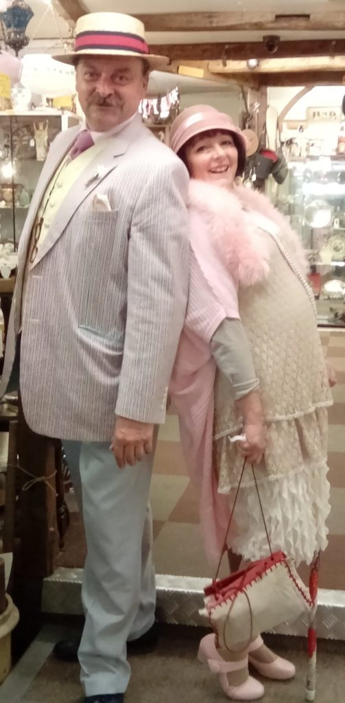 Hungerford Arcade Trudi and Paul 1920's Blog May 2017
