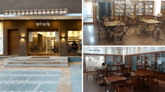 Karma Cafe: Ambiance | Places With Unique Concept In Ahmedabad