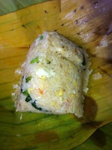 Rice parcel, Thailand
