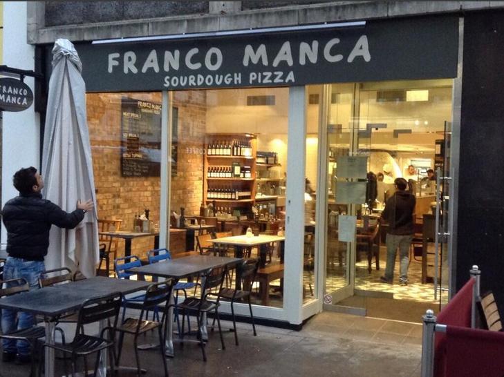 Review: Franco Manca Pizza, London
