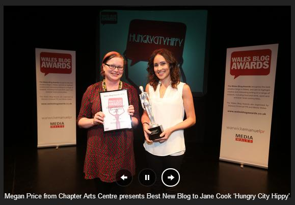 HungryCitHippy Wales Blog Awards