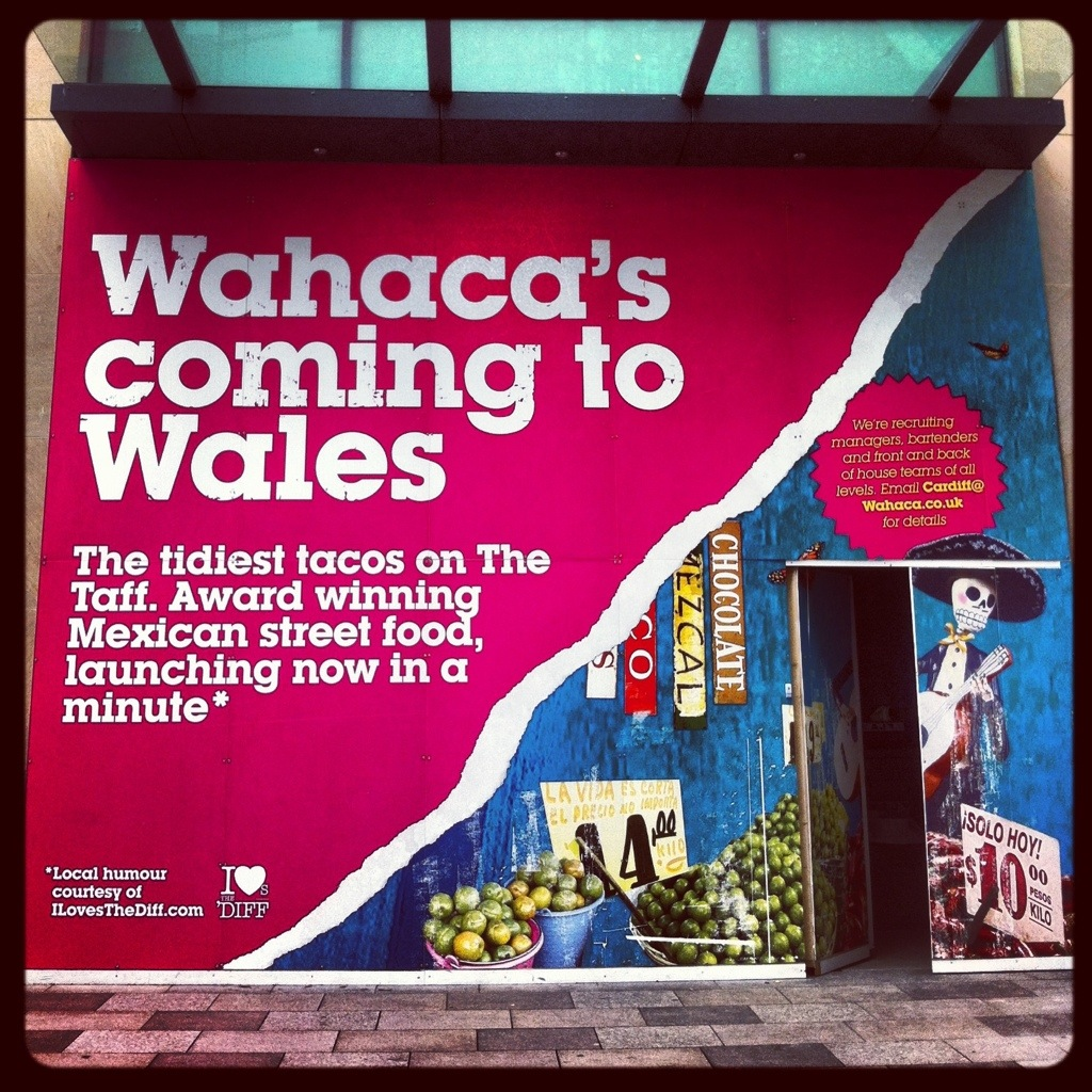 Wahaca, Cardiff