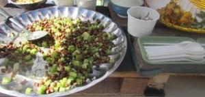Black Chickpea salad from Milgi