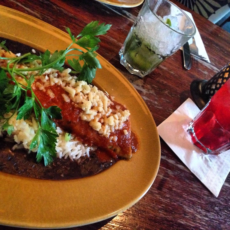 Review: Going Veggie at Las Iguanas restaurant, Cardiff