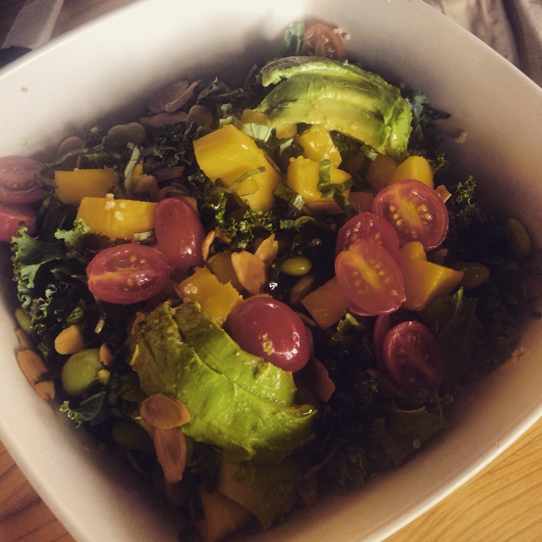 Avocado salad from Green Kitchen, Orlando