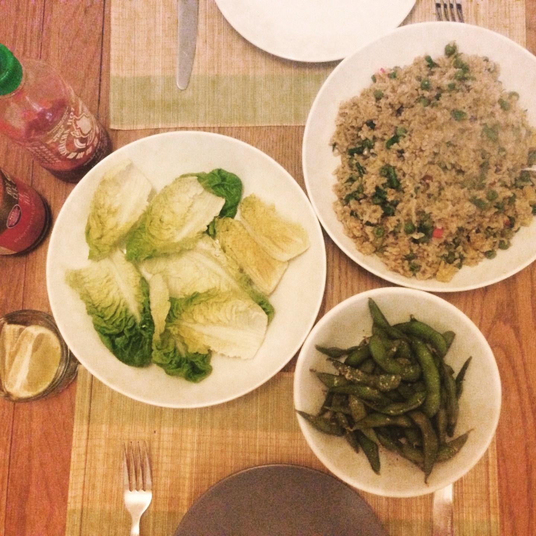 Recipe: Thai-Curried-Rice Lettuce Wraps
