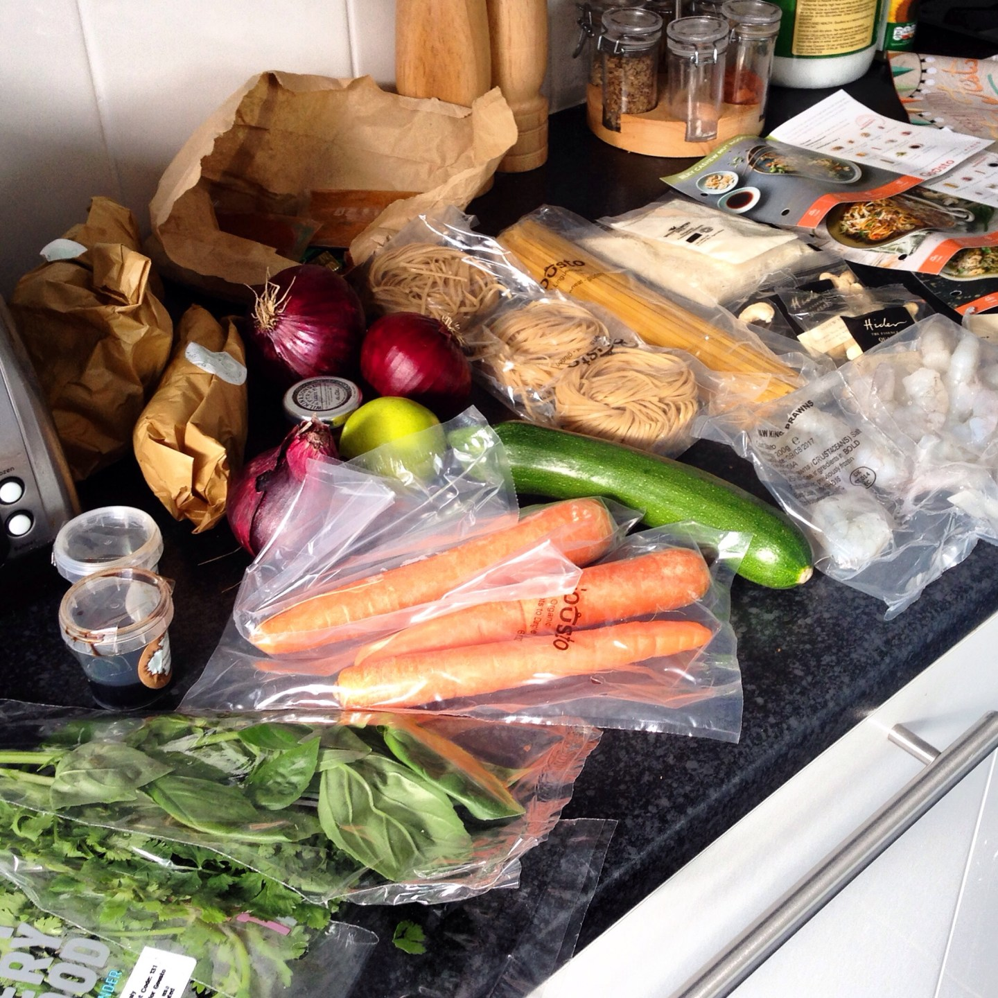 Cooking With Gousto: Home Delivery Recipe Boxes