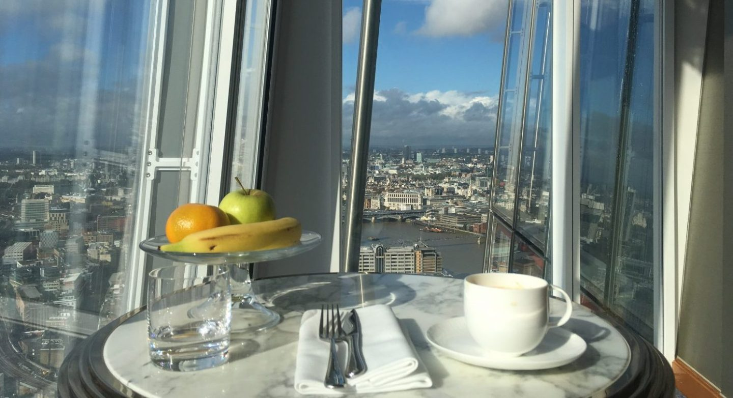 Review: The Shangri-La Hotel at The Shard, London