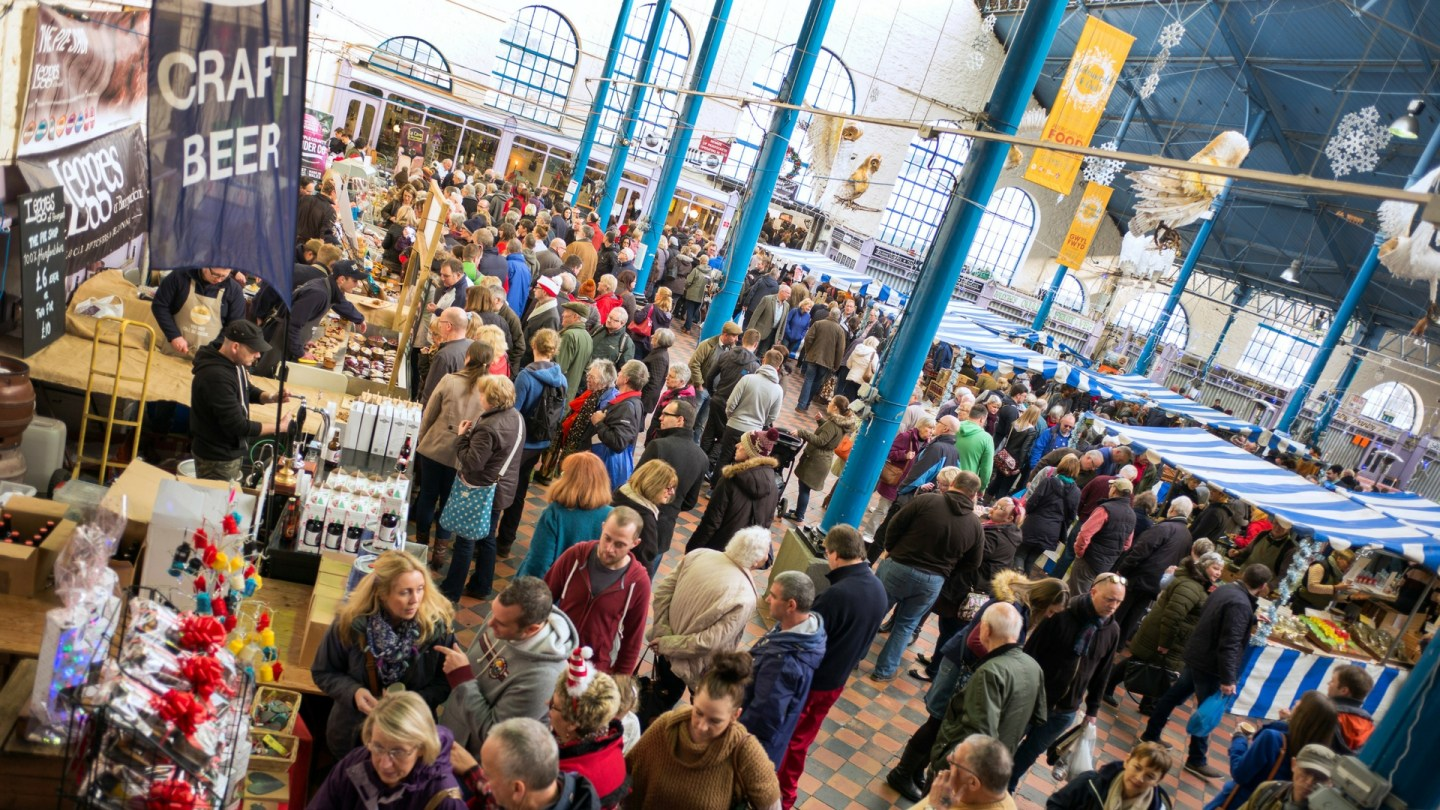 Win two tickets to the Abergavenny Christmas Fair