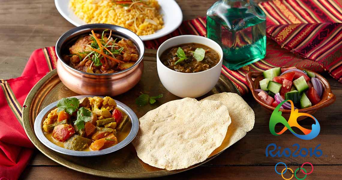 Rio Olympics Games Village Menu to Include Indian Food
