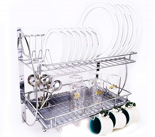 Mochen-Kitchen-Rack-With-Removable-Strong-Plastic-Drip-Tray