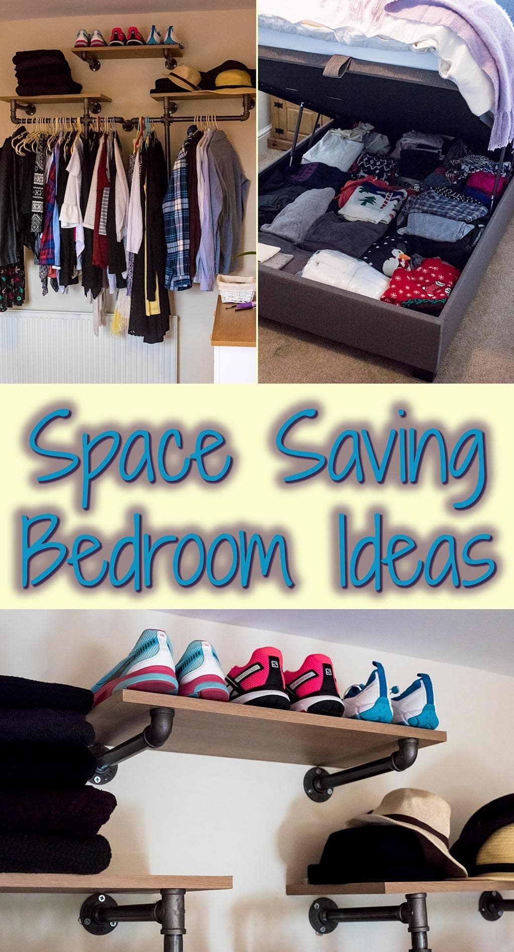 Space Saving Bedroom Ideas  Hungry Healthy Happy