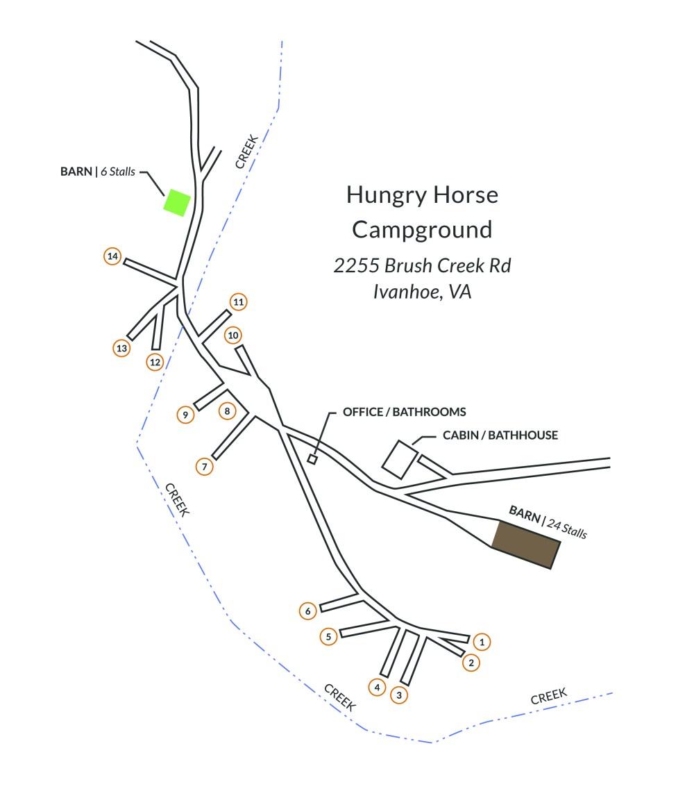 medium resolution of campground map