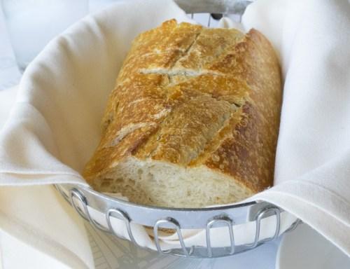 Fresh Boudin sourdough bread.