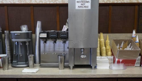 A vanilla shake is tempting.