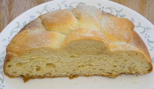 Delicious pan de muerto.
