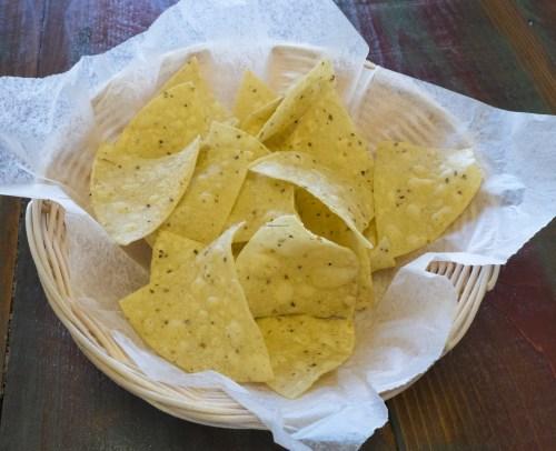 Fresh chips.