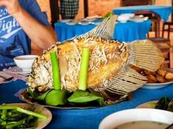 Меконг е богата на риба и скариди, като в нея се произвеждат голяма част от скаридите и тилапията, които се търгуват по целия свят
