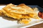 The Best Chicken Quesadilla