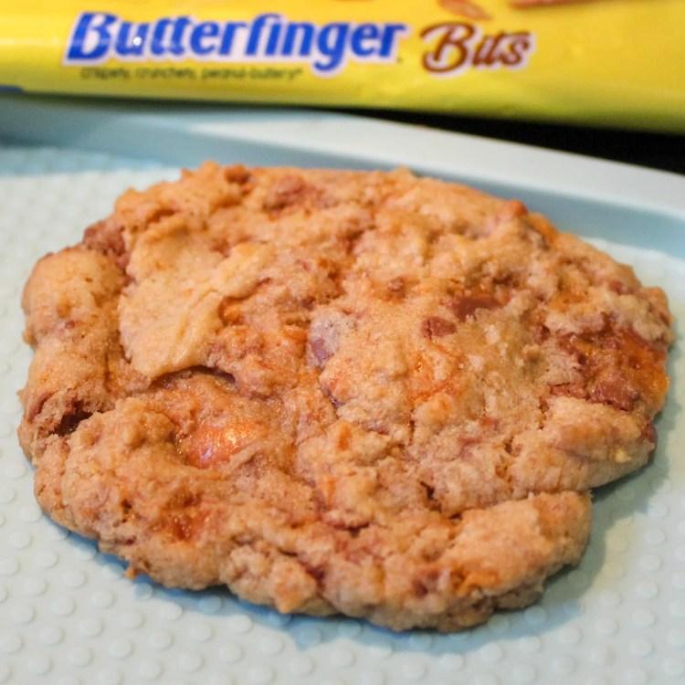 Butterfinger Crunch Cookies