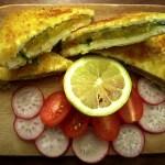 Aloo Stuffed Paneer Sandwich
