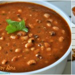 Lobia curry / Black eyed peas curry