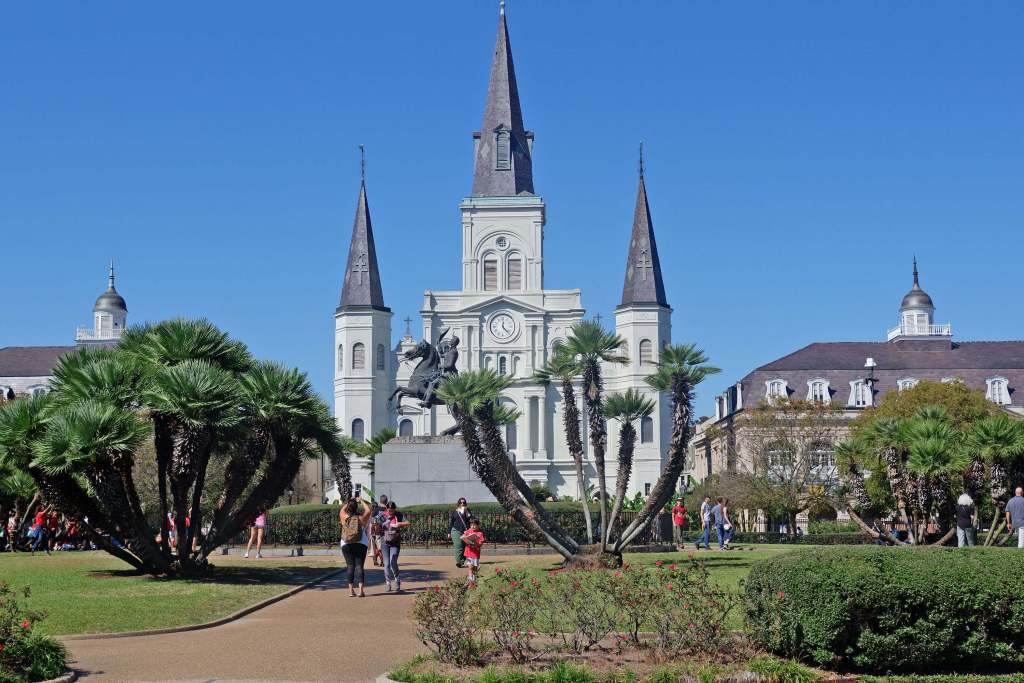 Destination Kitchen New Orleans Food Tour - Jackson Square