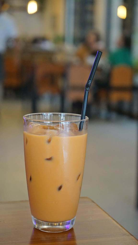 Muang Thai Restaurant Quezon City - Thai Milk Tea