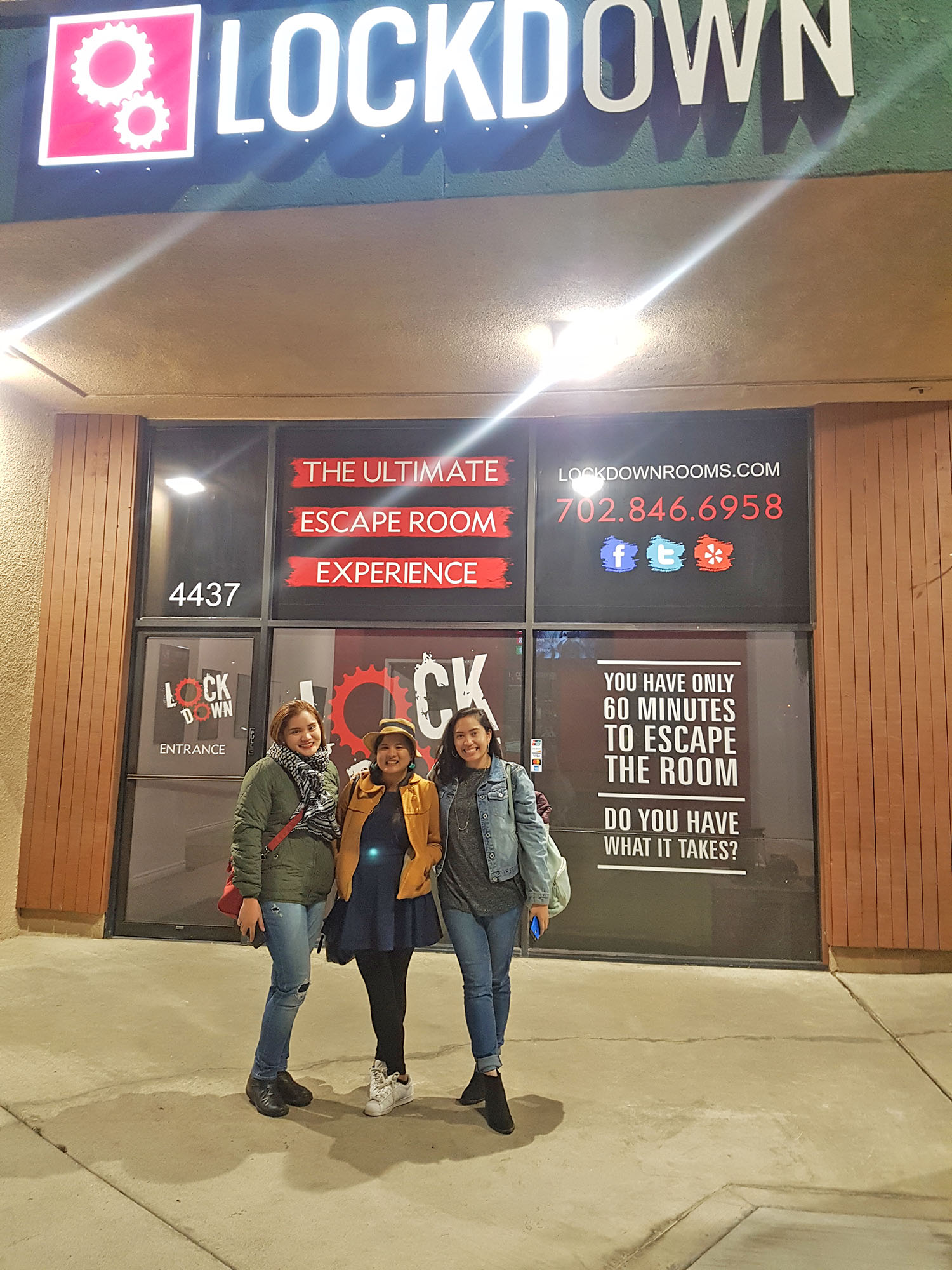Lockdown Las Vegas Escape Room Review Hungry Travel Duo